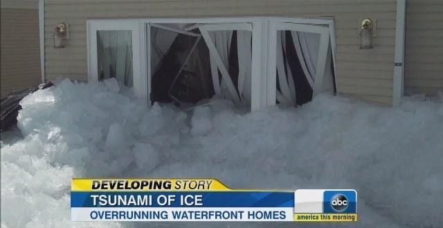 tsunami of ice