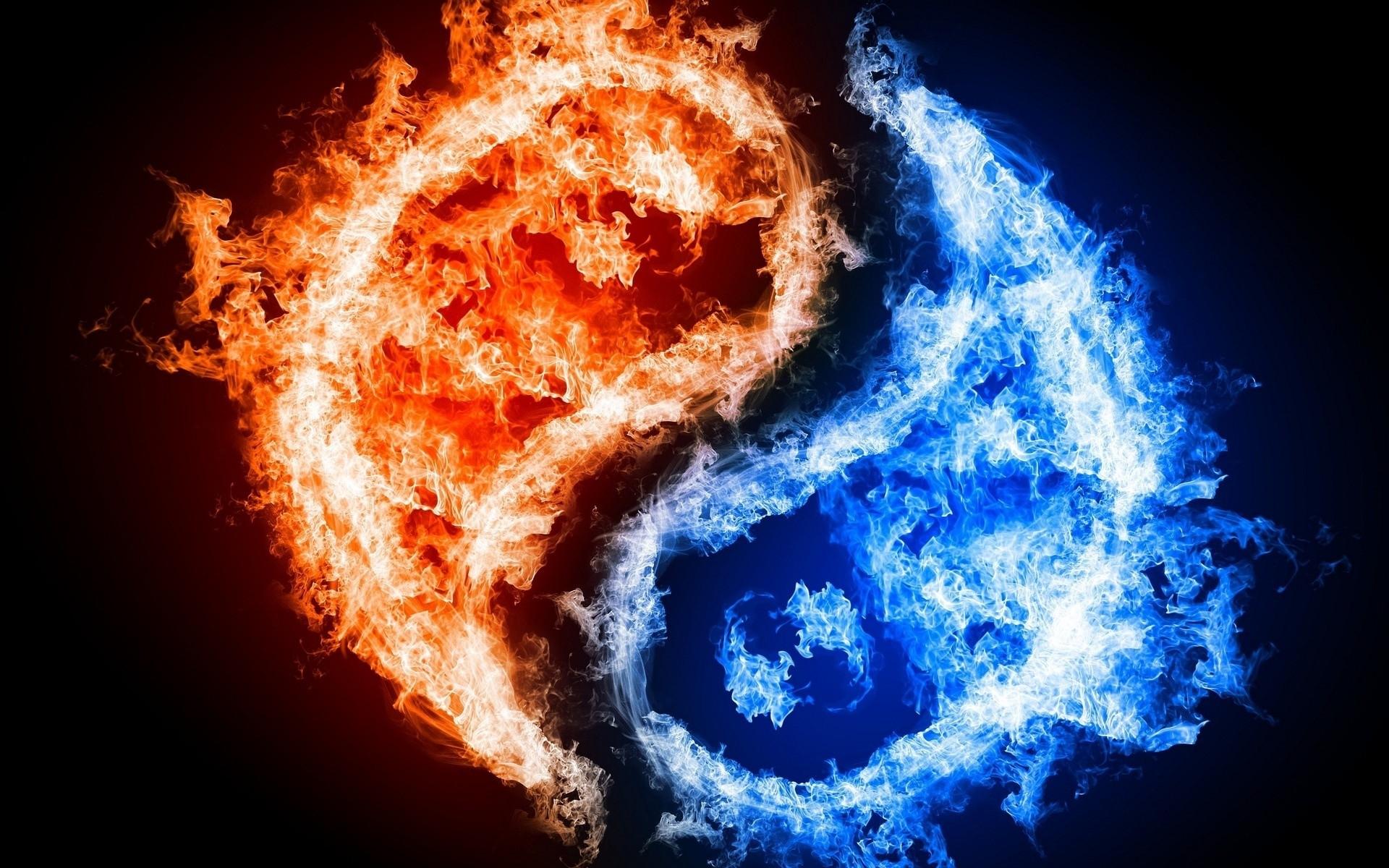φωτιά-γιν γιανγκ