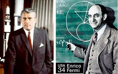 Wernher Von Braun y Enrico Fermi2