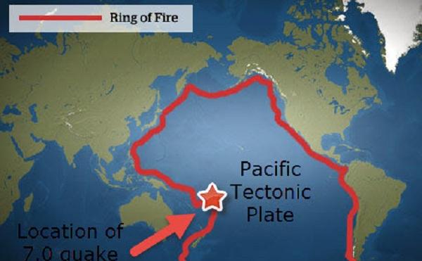 σεισμός, ring of fire, δαχτυλίδι της φωτιάς,