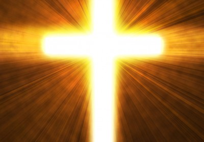 Glowing Cross Image