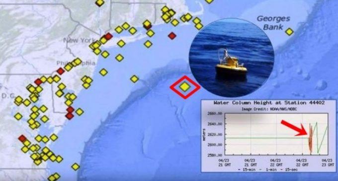 τσουνάμι, μαγνητόσφαιρα, μαγνητική ασπίδα της γης, σημαδούρες υψηλής τεχνολογίας, New Jersey,