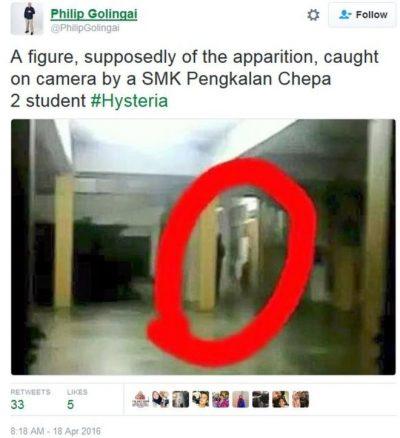 δαιμονική κατάληψη σε σχολείο της Μαλαισίας, Kota Bharu, Κότα Μπαρού,