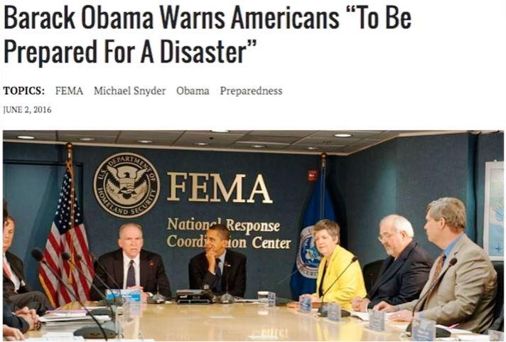 O Μπαράκ Ομπάμα προειδοποιεί τους Αμερικανούς να είναι προετοιμασμένοι για μια καταστροφή, Obama_FEMA
