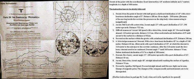 Ανταρκτική, τρίτο Ράιχ, SS, directions-to-Antarctic-bases-768x313