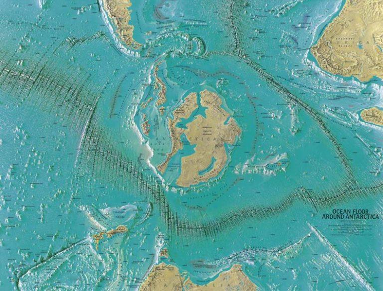 Ανταρκτική, τρίτο Ράιχ, SS, γερμανική αποστολή στην Ανταρκτική, ufo, ice-free-antarctica-768x584