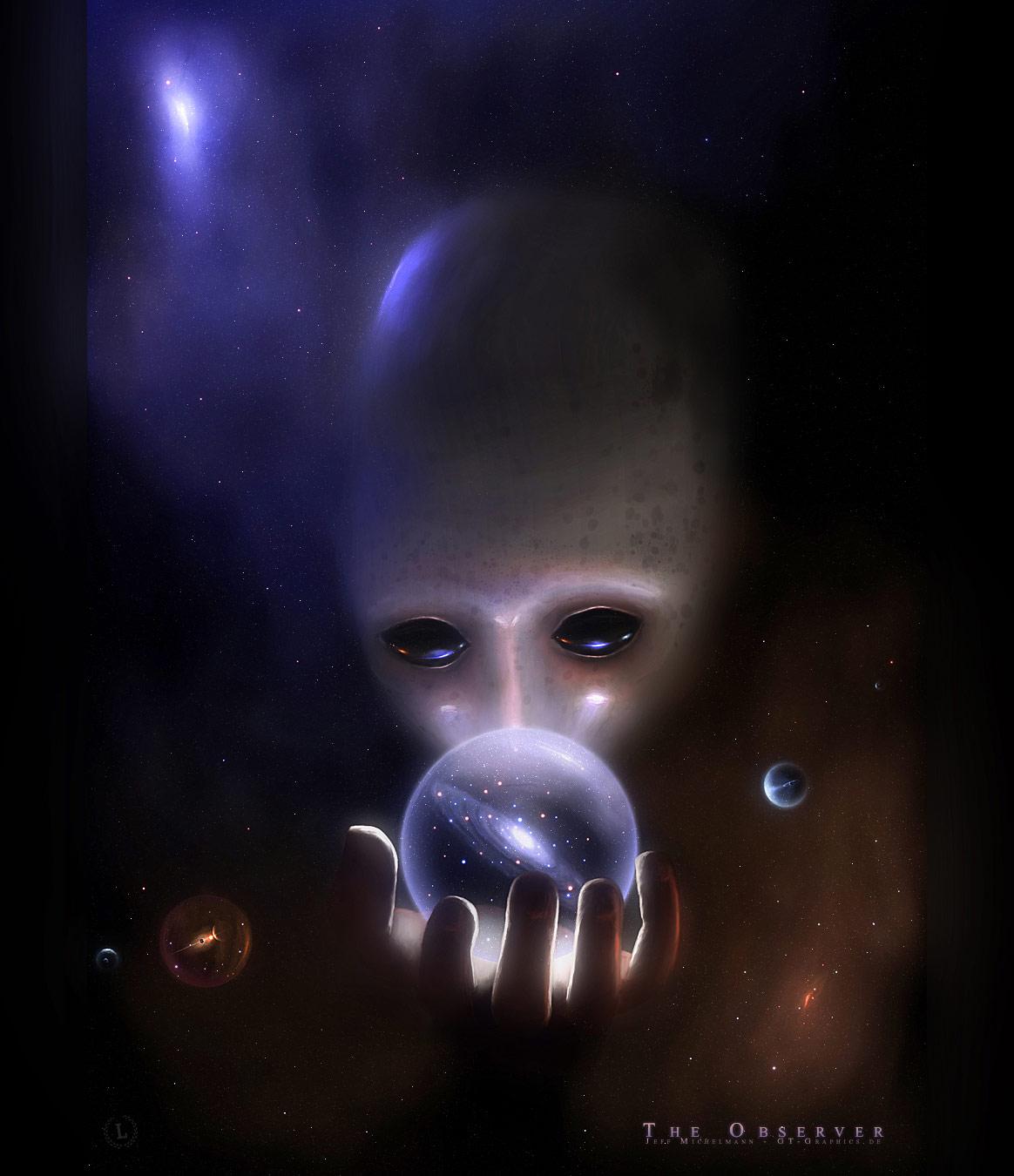 Γιούνκερ, οι ηγέτες άλλων πλανητών μας παρακολουθούν, εξωγήινοι, the_observer_by_gucken