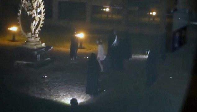 ανθρωποθυσία στο cern, Human Sacrifice Footage At Nuclear Facility Probed