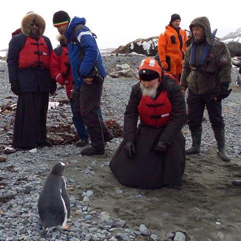 Κύριλλος στην Ανταρκτική, kirillos-antarctic1