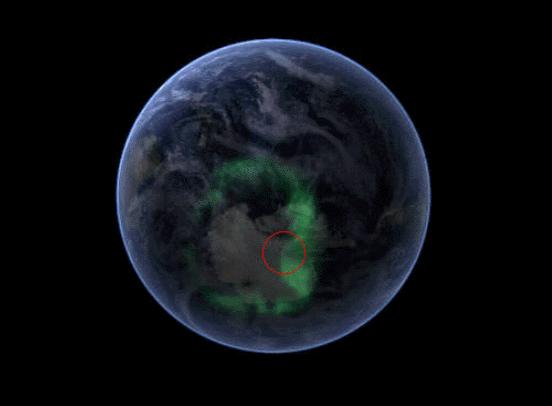 hollow4, πολικό σέλας, νότιο σέλας, κοίλη γη, εσωτερικός ήλιος της γης,