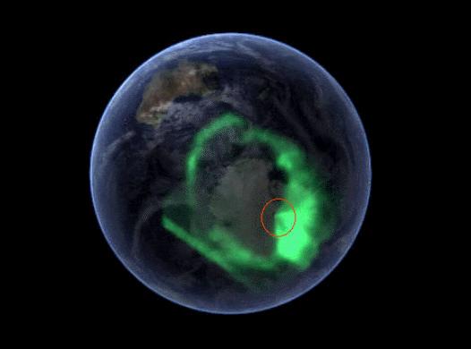 hollow5, πολικό σέλας, βόρειο σέλας, νότιο σέλας, κοίλη γη, εσωτερικός ήλιος,