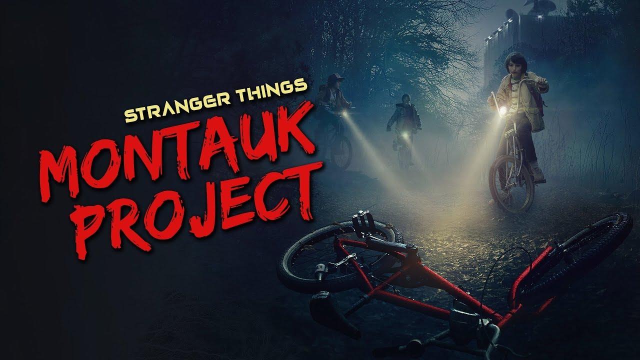Montauk Project, Stranger Things,