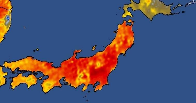 καύσωνας στην Ιαπωνία