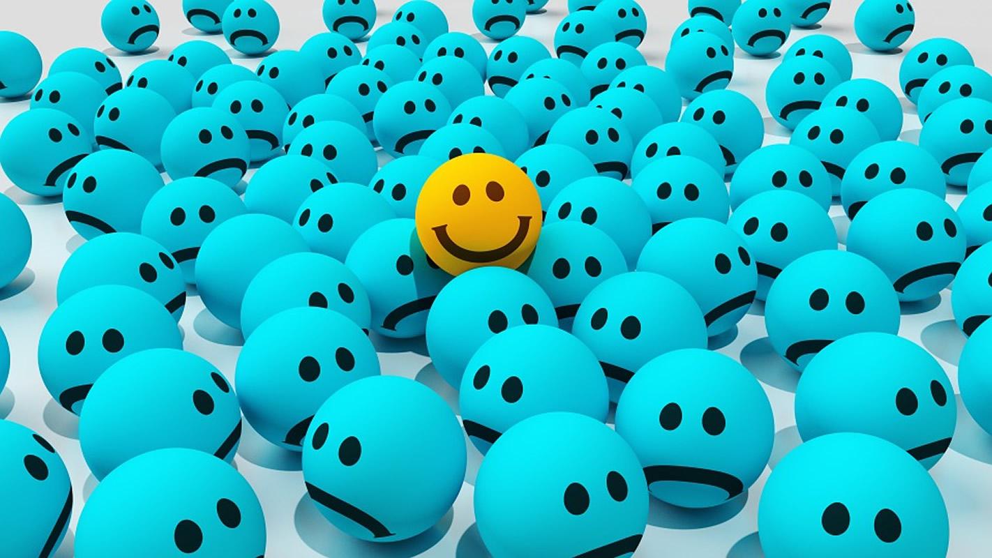 Οι άνθρωποι δεν έχουν σχεδιαστεί για να είναι ευτυχισμένοι